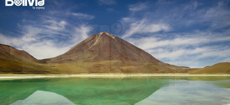 Laguna Verde orizontal, Reserva Eduardo Avaroa