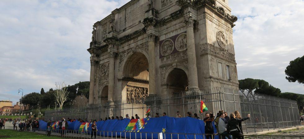 Banderazo Arco del Triunfo
