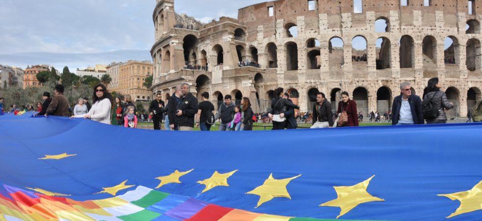Banderazo Colosseo RM