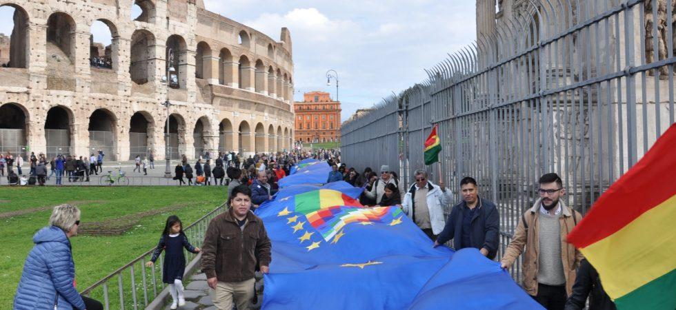 Banderazo Internacinal Italia