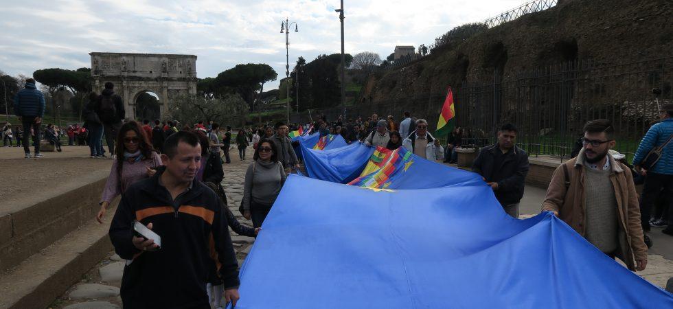 Banderazo Internacional Roma